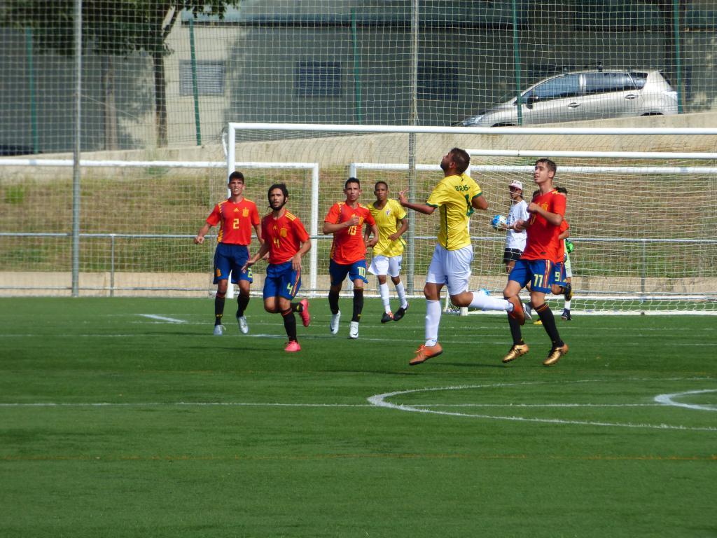 Spain-Brazil match